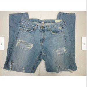 Rag & Bone Rebel Boyfriend Womens Size 27 Jeans